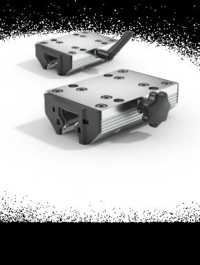 Cassette avec pince de blocage